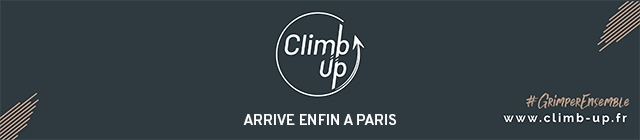 Climb Up ARRIVE ENFIN A PARIS www.climb-up.fr