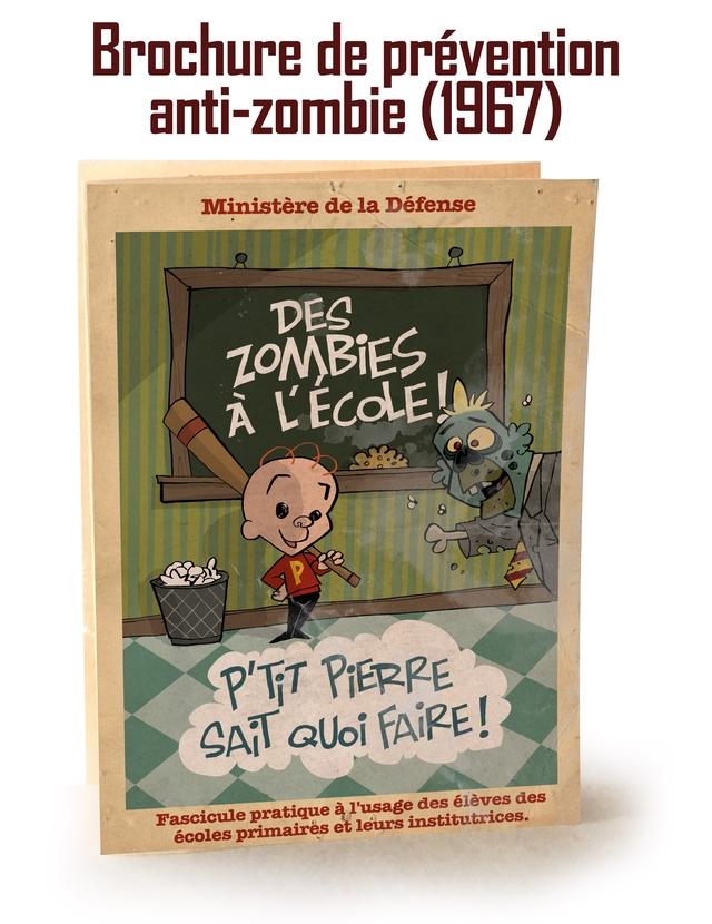 Brochure de prevention anti-zombie (1967) Ministere de la Defense P'TT PiERRE SAi QUoi Fascicule ecoles primaires pratique a et l'usage leurs institutrices. des eleves des