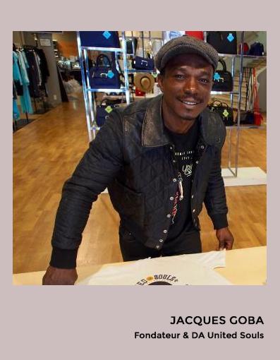 JACQUES GOBA Fondateur & DA United Souls