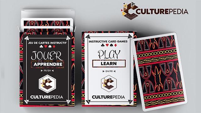CULTUREPEDIA JEU DE CARTES INSTRUCTIF INSTRUCTIVE CARD GAMES JOUER PLaY APPRENDRE LEARN FR/EN EN/FR 4 CULTUREPEDIA CULTUREPEDIA