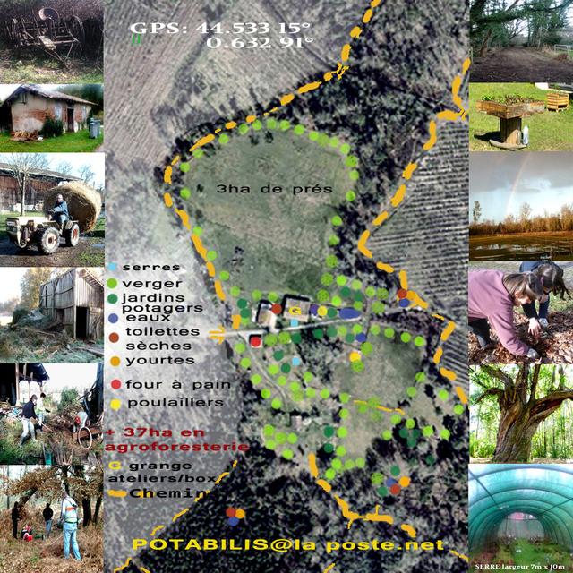 jardins pdagogiques handicap permaculture agroforesterie vergers aire de compostageune serre de 75m2 jardins de 250m2 200m2 500m2 150m2 3 - Jardin Permaculture