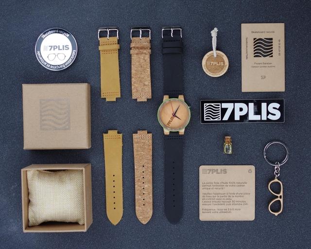 Différents bracelets disponibles