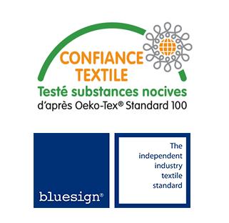 Certification Oeko-Tex et Bluesign