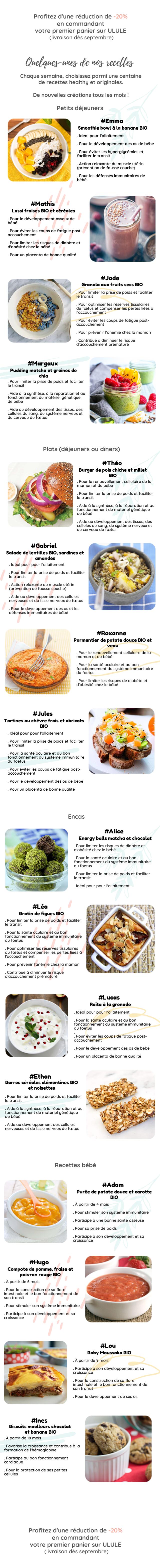Profitez Quelques-unes de nos recette de #Mathis #Jade #Margaux Plats #Gabriel #Lucas #Ethan Recettes #Adam #Hugo #Lou votre premier