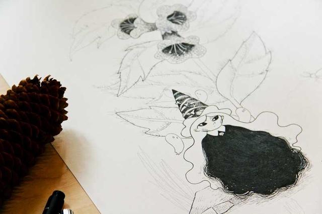[promo] Herbarium magicae, les sorcières botaniques | Artbook en crowdfunding 6fc5b2ce6eae0c7c876f17f2b7db6f34