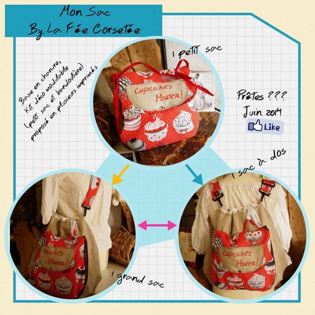 sac fée corsetée image