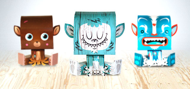 Free The Papertoys - Ulule