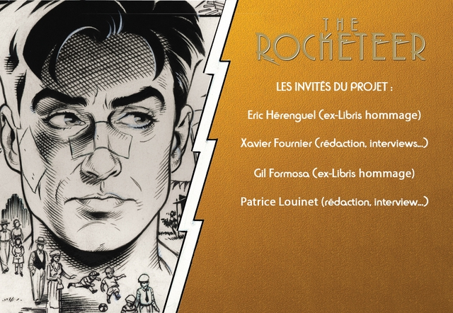 LES INVITES DU PROJET Eric Herenguel ex-Libris hommage) Xavier Fournier Gil Formoso (ex-Libris hommage) Patrice Louinet