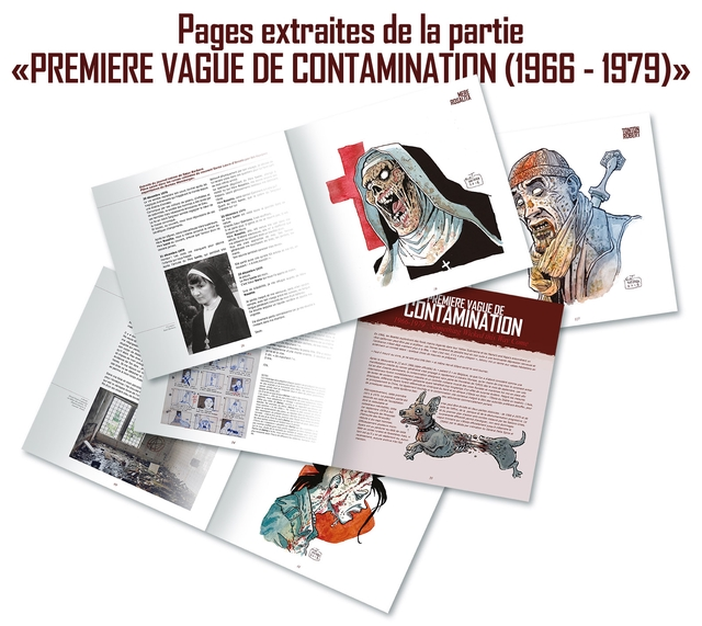 Pages extraites de la partie PREMIERE VAGUE DE CONTAMINATINN 1(1966-1979)> TONTON ROBERT VAGUE DE