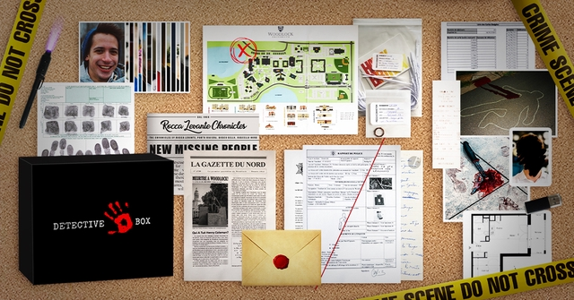 b Rocca Levante Chronicles NEW DEODII LA GAZETTE DU NORD then WOODLOCK DETECTIVE BOX DO NOT DO NOT CROSS