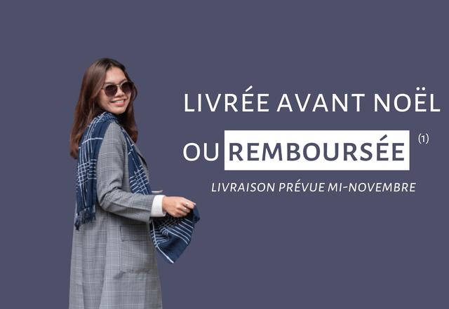LIVREE AVANT NOEL (1) OU REMBOURSEE LIVRAISON PREVUE MI-NOVEMBRE
