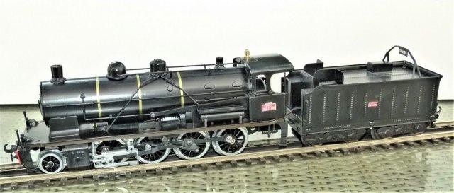 SNCF 140C steam locomotive in 0 Gauge - Ulule