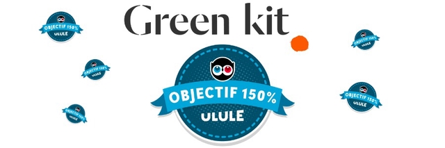 OBJECTIF 150% Green kit ULULE OBJECTIF 150% ULULE