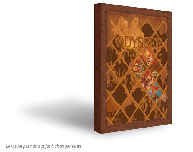La couverture du projet Odyssée !