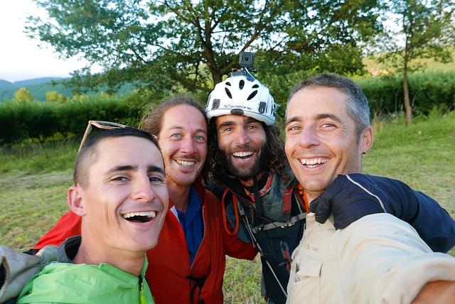 Brian, Siphay, Olivier et Morgan