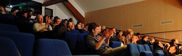 Le public lors de la soirée du vendredi 15 mars 2013