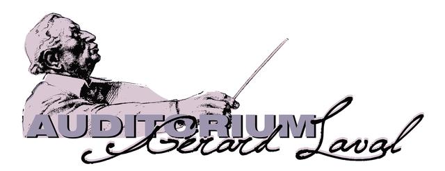 Logo de l'auditorium 'Gérard Laval'