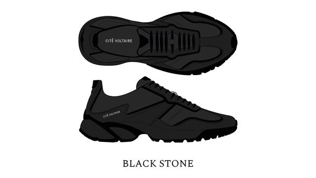 CITE VOLTAIRE BLACK STONE