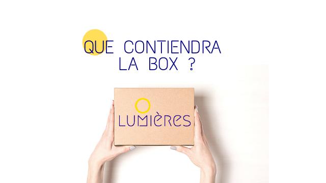 QUE CONTIENDRA LA BOX ? LUMICRES