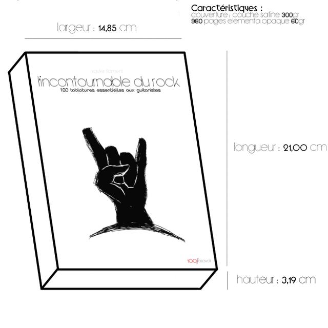 Couverture : L'incontournable du Livre - 100 tablatures essentielles aux guitaristes