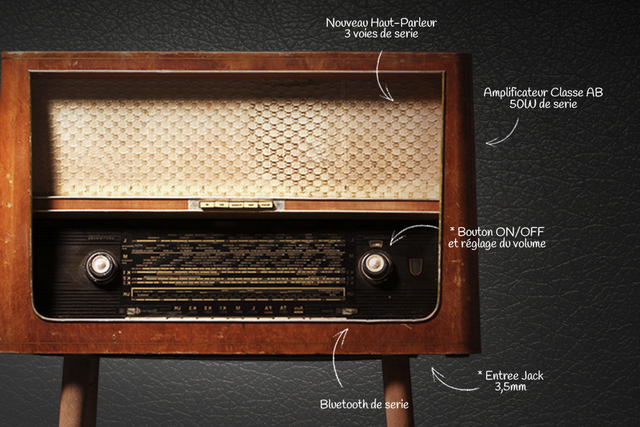 vintage radios ulule. Black Bedroom Furniture Sets. Home Design Ideas
