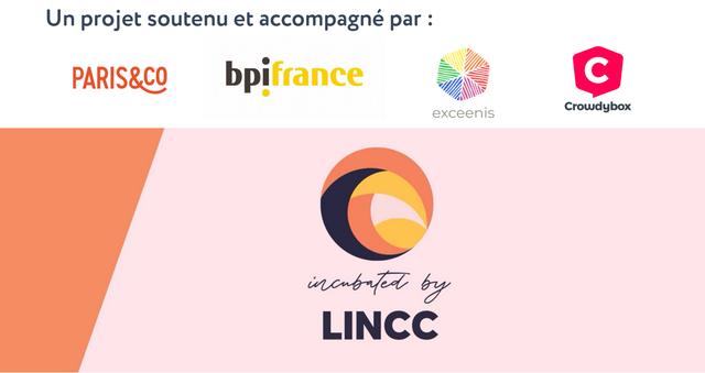 Un projet soutenu et accompagne par : PARIS&CO bpifrance C Crowdybox exceenis by LINCC