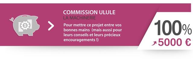 Commission Ulule (8%) : Pour mettre ce projet entre vos bonnes mains  (mais aussi pour leurs conseils et leurs précieux encouragements !)
