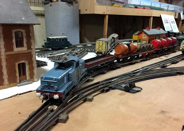 datant pointes de chemin de fer