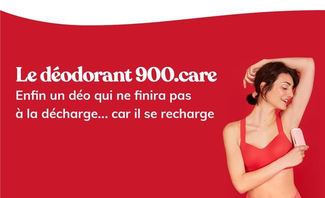 Ledeodorant 900.care Enfin un deo qui ne finira pas a la decharge.. car il se recharge