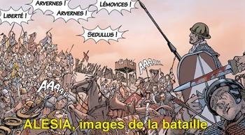 ARVERNES LEMOVICES LBERTE! ARVERNES! Sepuuus images de G dela bataille at