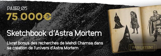 75 Sketchbook d 'Astra Livret bonus des recherches de Mehdi Chamsa dans sa creation de d'Astra Mortem