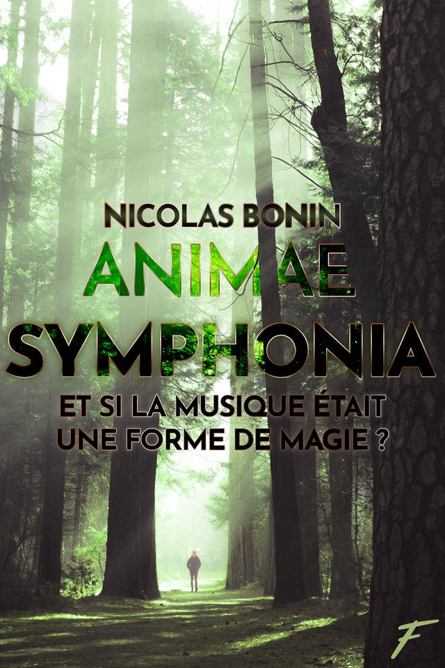 Couverture du roman Animae Symphonia de Nicolas Bonin avec la citation : la musique est une forme de magie !