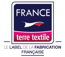 FRANCE terre textile LELABEL DELA FABRICATION FRANCAISE
