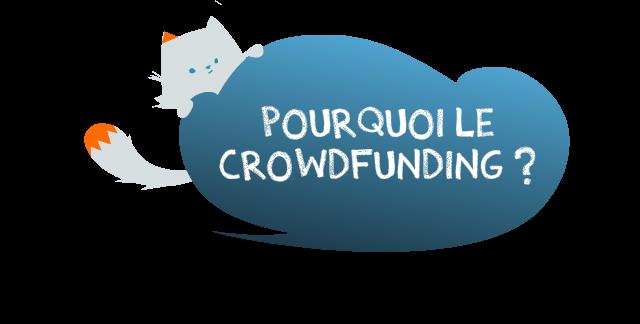 Pourquoi le crowdfunding ?