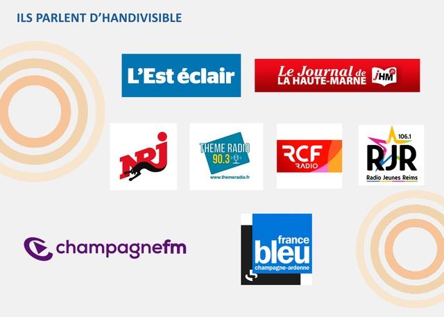 ILS PARLENT D'HANDIVISIBLE LAHAUTE-MARNE Le Journal de 106.1 THEME RADIO RCF RADIO RJR www.themeradio.fr Radio Jeunes Reims france champagnefm bleu champagne-ardenne