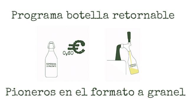Programa botella retornable 0,60 Pioneros en el formato a granel