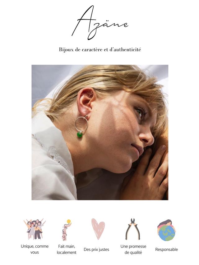 Bijoux de caractere et d'authenticite Unique, comme Fait main, Une promesse Des prix justes Responsable vous localement de qualite