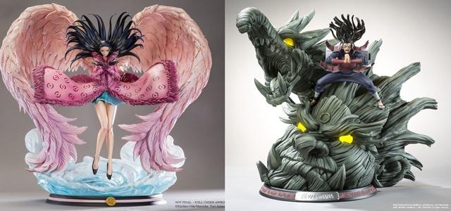 figurine manga resine
