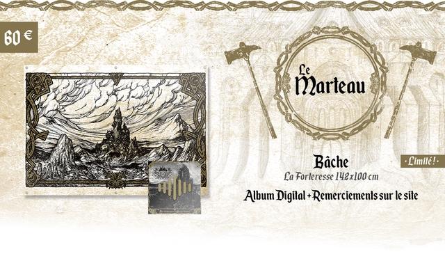 Le Marteau Bache Limite! La Forleresse 142x100 cm Album Digital + Remerciements sur le site