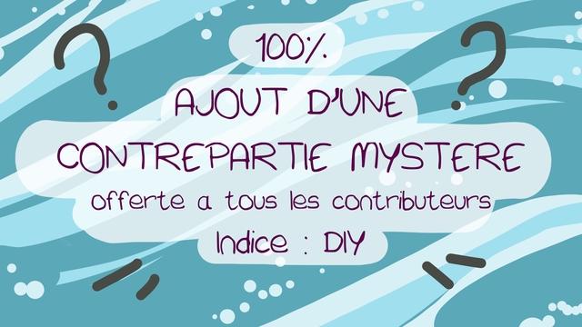 100:/ AJOUT CONTREPARTIE MYSTERE offerte a tous les contributeurs DIY