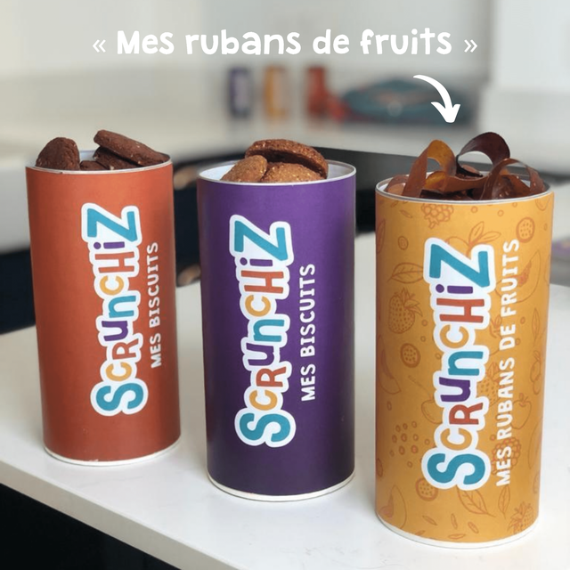 MES BISCUITS SCRUnCHiZ MES BISCUITS CRUnCHiZ MES RUBANS DE FRUITS