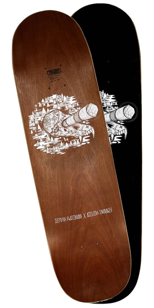 Defocus skakeboard