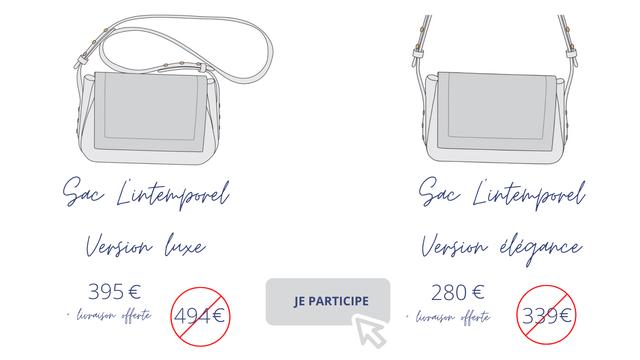Vergion Vergion degance 395 € 280 JE PARTICIPE + + 339€