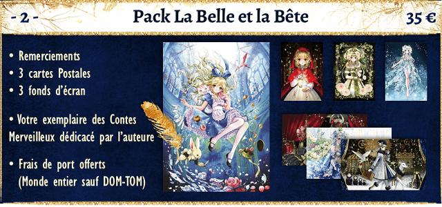 pack belle et la bete - shiitake - crowdfunding ulule