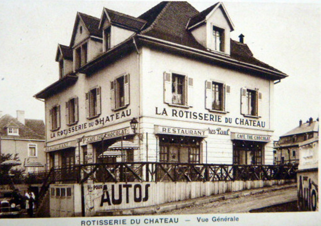 L'immeuble dans les années 40