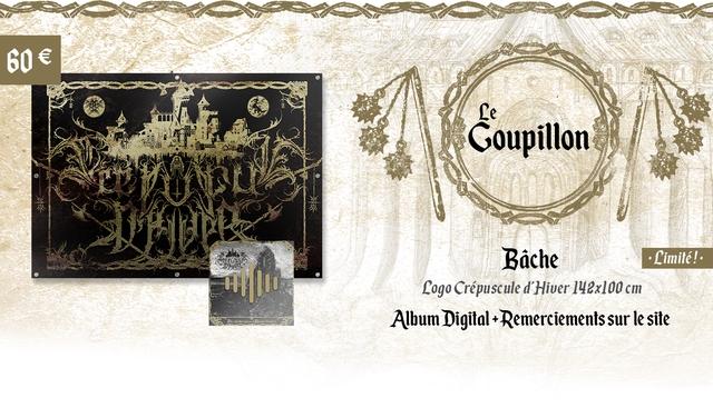 60e Le Goupillon Bache Limite! Logo Crepuscule d'Hiver 142x100 cm Album Digital+Remerciements sur le site