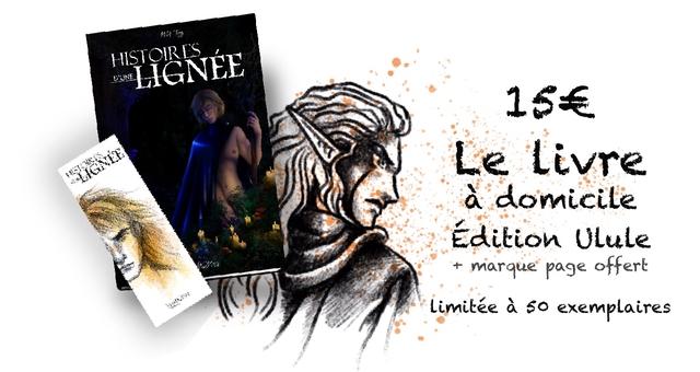 15 Livre a domicile Edition ULule marque page offer Limitee a exemplaires