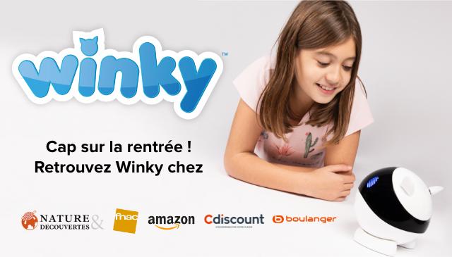 winky TM win Cap sur la rentree Retrouvez Winky chez NATURE fnac amazon Cdiscount Oboulanger DECOUVERTES