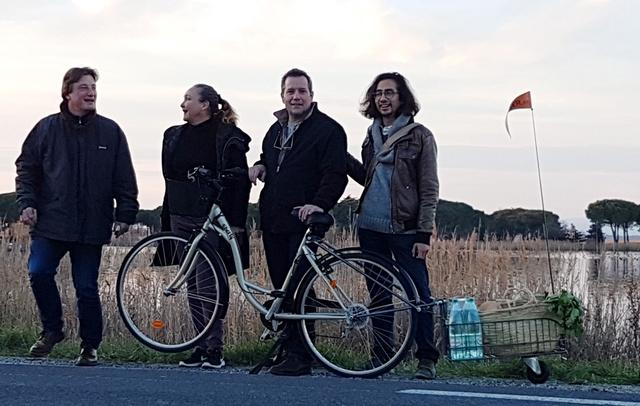 Equipe SUIVER.EU pour notre 1er tournée en février 2017