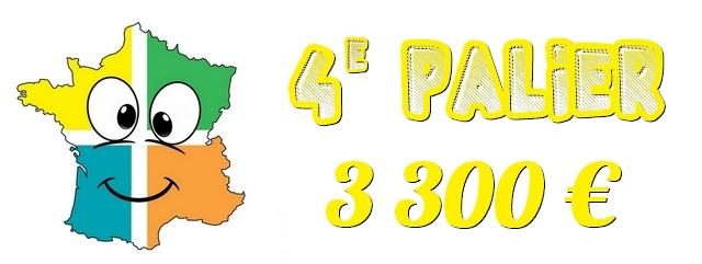 4e palier : 3300 €